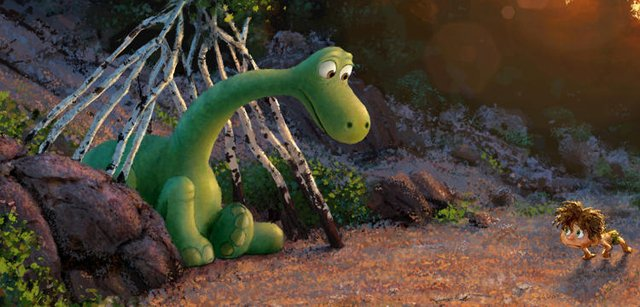 The Teaser Trailer and Poster for Pixar's The Good Dinosaur