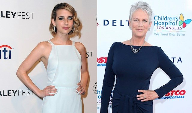 Emma Roberts and Jamie Lee Curtis are Scream Queens