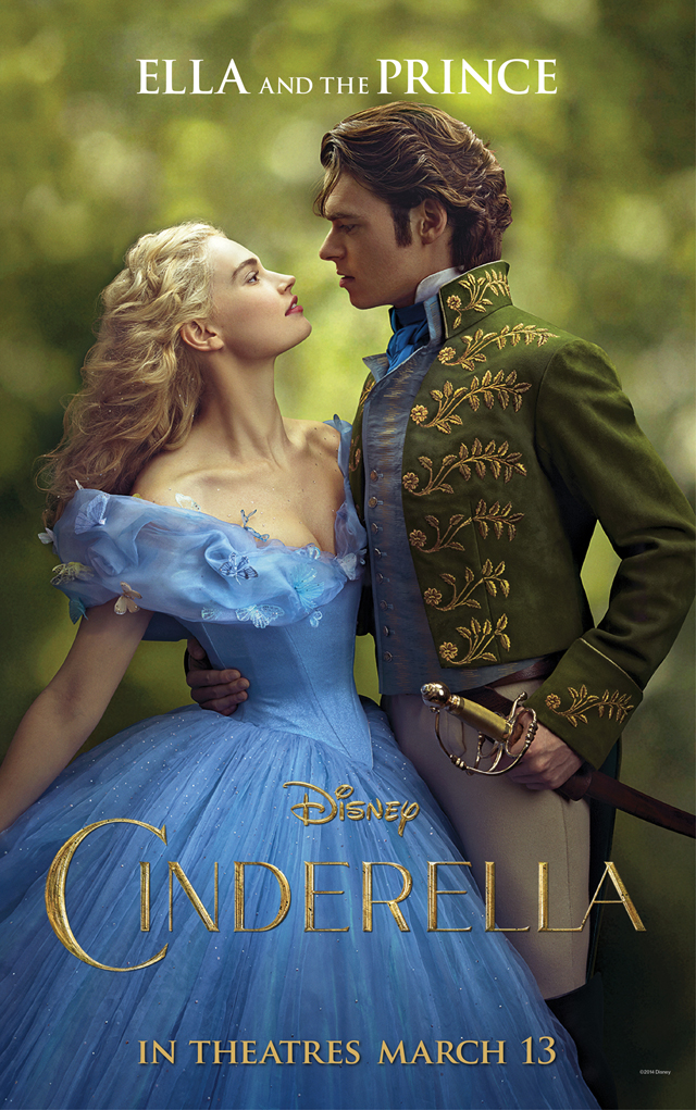 Cinderella Lily James Richard Madden