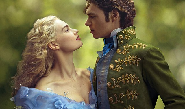 Cinderella Poster Lily James Richard Madden