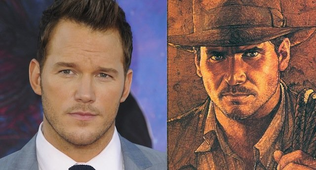 Chris Pratt Indiana Jones Reboot Chris Pratt as Indiana Jones