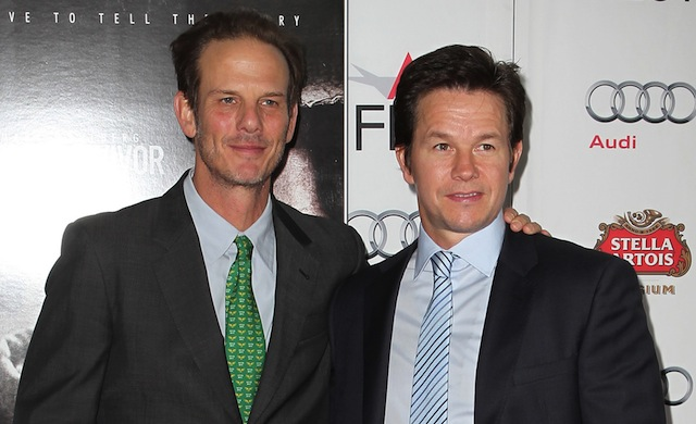 Peter Berg and Mark Wahlberg