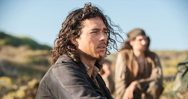 Toby Stephens and Luke Arnold on Black Sails Season Two.