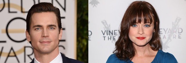 Passionate fans petition to recast Matt Bomer and Alexis Bledel as leads for Fifty Shades of Grey film.