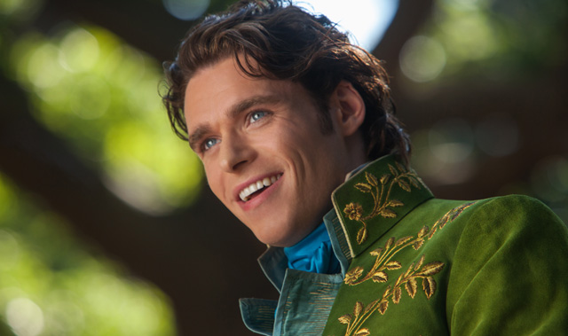Actor Richard Madden cast as Prince Charming in Disney's upcoming Cinderella live-action film.