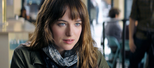 Jamie Dornan and Dakota Johnson as lead characters in Fifty Shades of Grey movie.