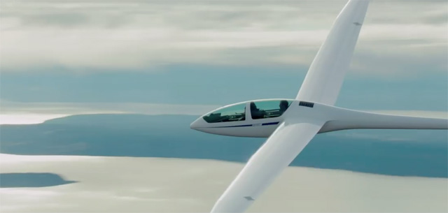 The glider is just one of the ways Christian Grey seeks thrills in Fifty Shades of Grey.