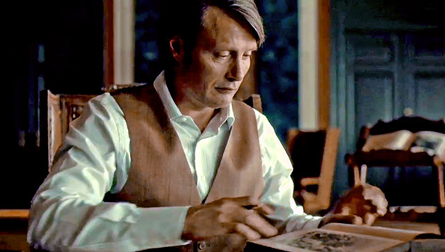 The trailer for Hannibal Season 3.