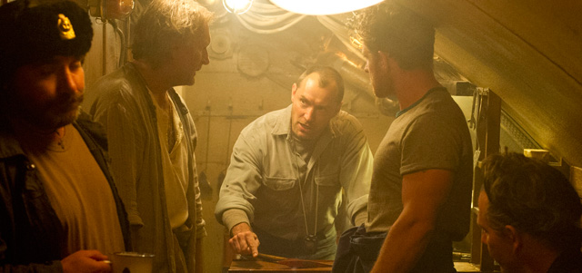 Kevin Macdonald talks about directing Black Sea.