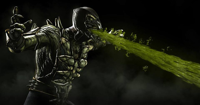 Reptile revealed for Mortal Kombat X.