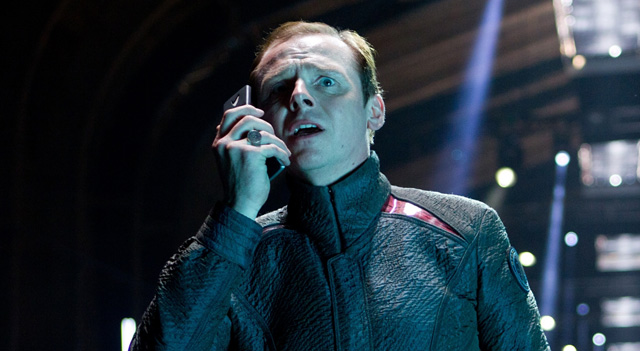 Simon Pegg to co-write Star Trek 3.