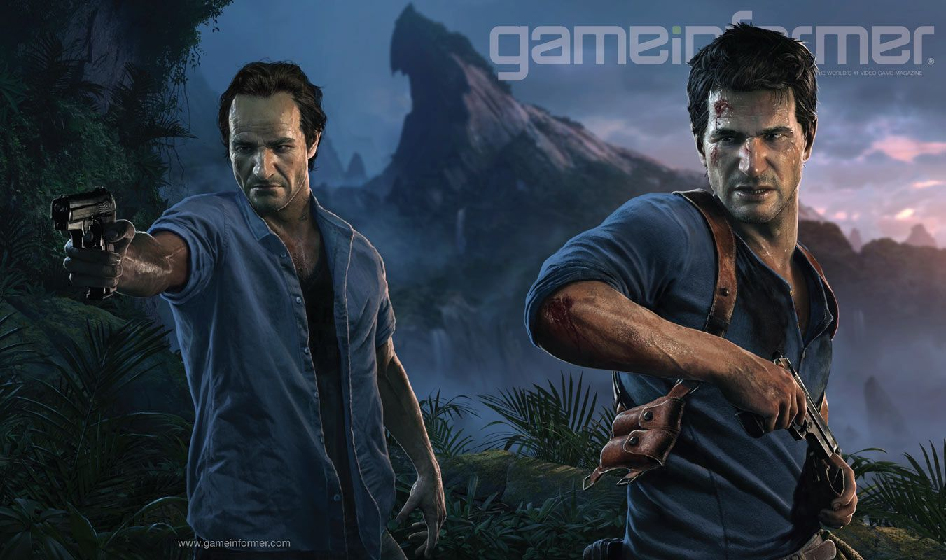 Uncharted 4: A Thief's End Lands on the Cover of Game Informer