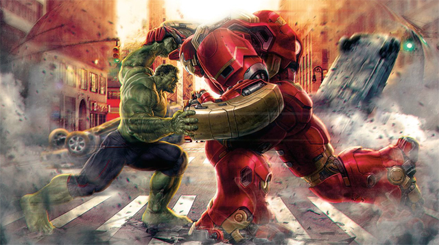 New promo art from Avengers: Age of Ultron
