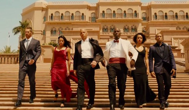 Fast & Furious fans and movie-goers anticipate thrilling action in Furious 7.