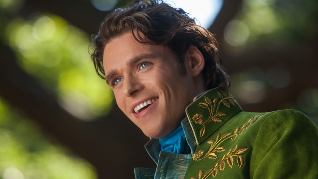 Richard Madden is Prince Charming in Disney's live-action Cinderella film.