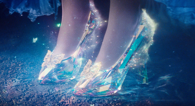 The glass slippers, a key element in Disney's Cinderella, did not appear in original versions of the tale.