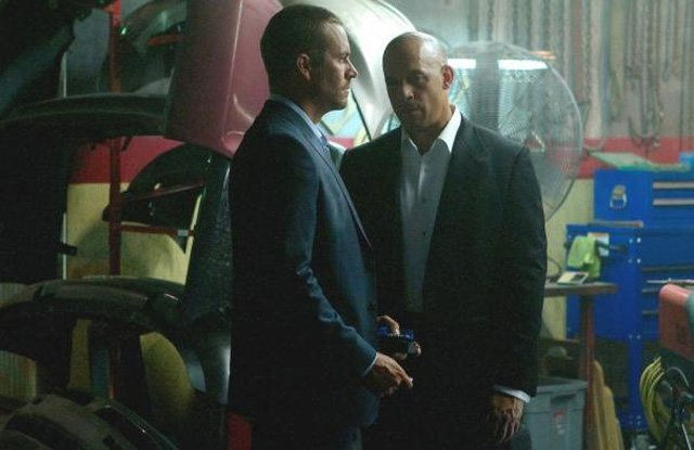 Vin Diesel and Paul Walker reunited for the seventh installment in The Fast and the Furious series.