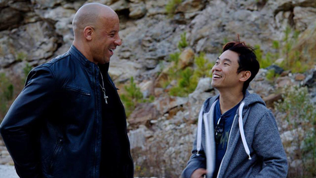 Director James Wan, best known for his horror films, takes on the latest Fast & Furious film, Furious 7.