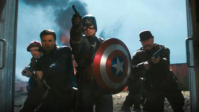 Set in 1942 during WW2, Captain America: The First Avenger is a good starting point for an Avengers movie marathon.