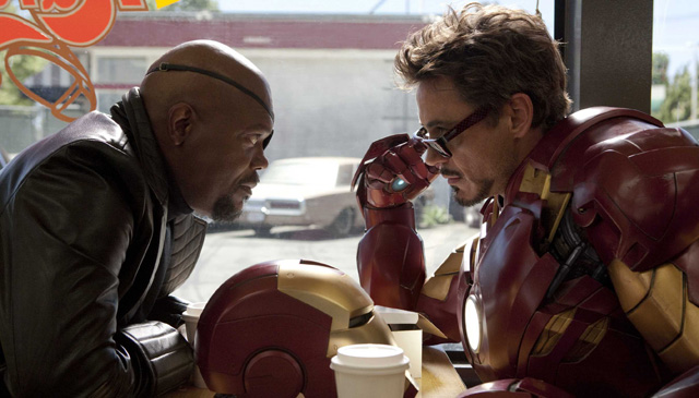 Tony Stark/Iron Man played by Robert Downey Jr. becomes the founder of the Avengers as a S.H.I.E.L.D. consultant.