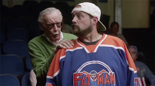 Kevin Smith Directs Stan Lee Directing Kevin Smith in Stan Lee Cameo School