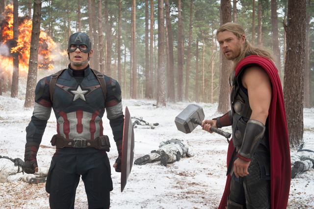Filming for Avengers: Age of Ultron took place globally, and included such destinations as Hawley Woods.
