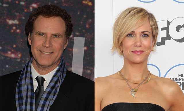 Will Ferrell and Kristen Wiig
