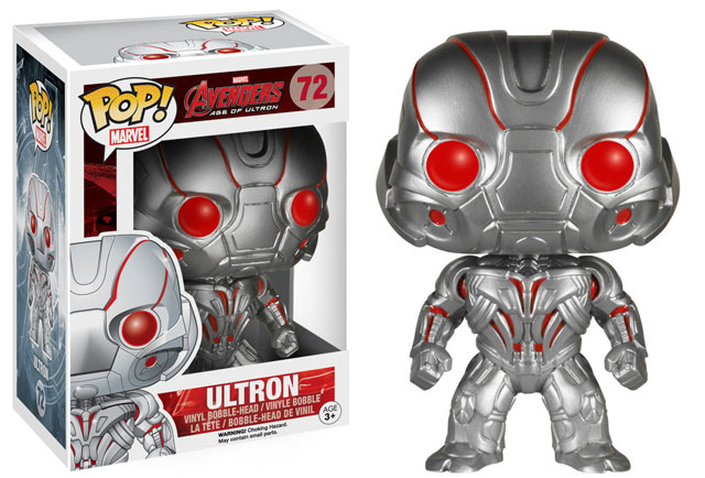 Funko's POP! Vinyl figures are an affordable starting point for new collectors of Avengers characters, and at $10.99 a piece, you won't be scared to take them out of the box.