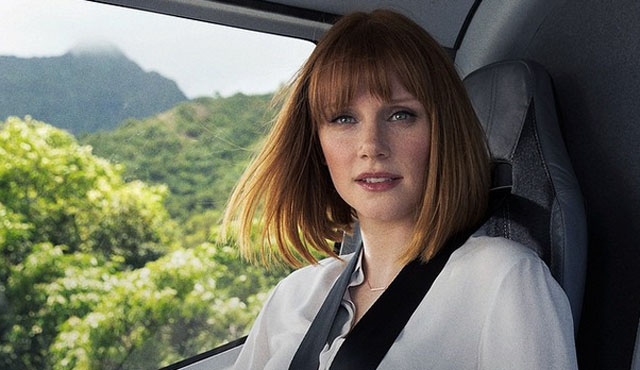 Bryce Dallas Howard plays Claire Dearing, who is Jurassic World's Operations Manager.