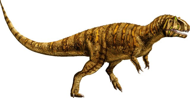 The Metriacanthosaurus is another of the many Jurassic World dinosaurs.