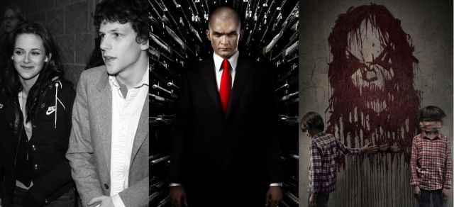 American Ultra be will going up against Hitman: Agent 47 and Sinister 2 on August 21.