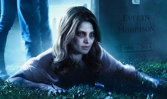 We've got new stills and a new poster for Joe Dante's upcoming horror comedy, Burying the Ex.