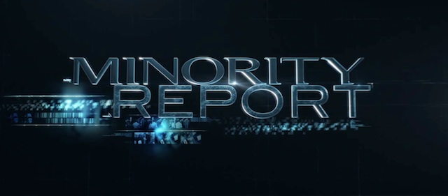 Check out the neww Minority Report trailer, coming to FOX this fall!
