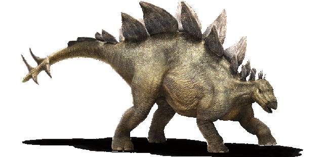Meet the Stegosaurus, one of the Jurassic World dinosaurs that can be seen in the upcoming film.
