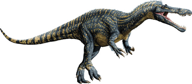 The Jurassic World dinosaur roster includes the Suchomimus!
