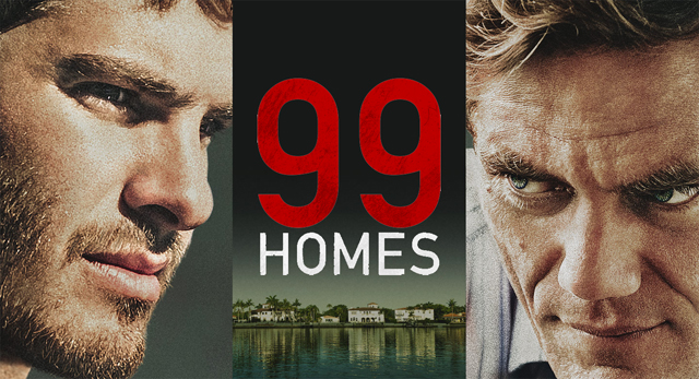 Check out the new film starring Andrew Garfield and Michael Shannon in the 99 Homes trailer.