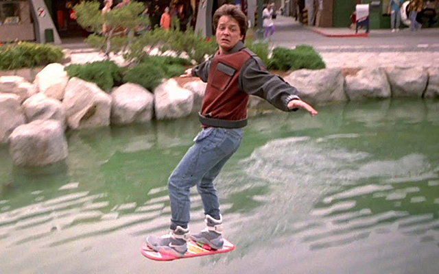Hoverboard - Back to the Future  - KIOSK Magazine