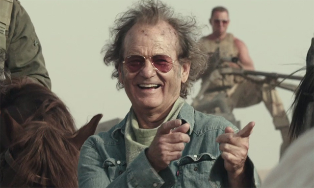Bill Murray stars in the Rock the Kasbah trailer!