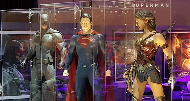 Check out promo posters, costumes and even the Batmobile in our Licensing Expo 2015 gallery!