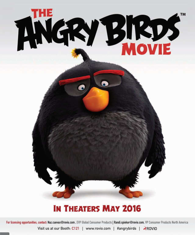 "Written by ""The Simpsons"" alum Jon Vitti and directed by Fergal Reilly and Clay Kaytis, the Angry Birds movie is set to debut in the US on May 20, 2016."