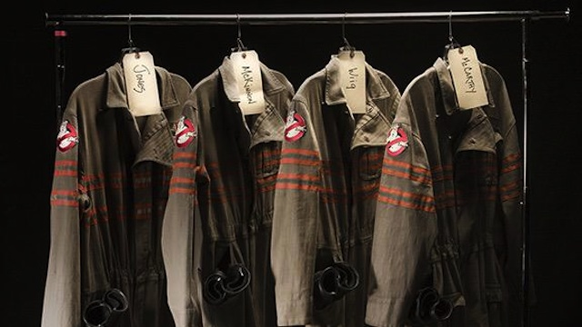 Take a first look at the Ghostbusters costumes!
