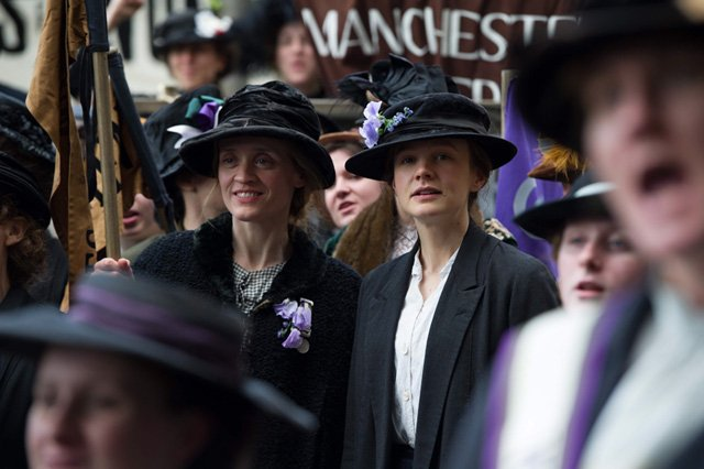 The Trailer for Suffragette, starring Carey Mulligan and Meryl Streep
