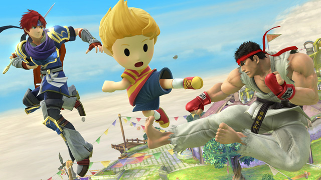 Ryu, Roy and Lucas Join Super Smash Bros  for Wii U and 3DS