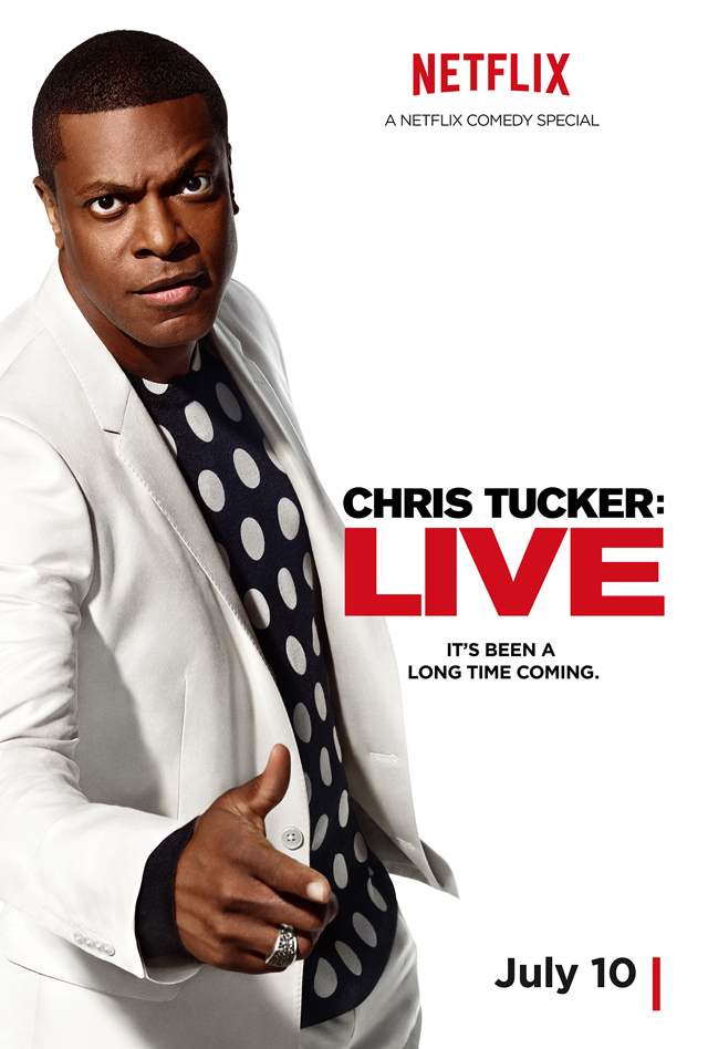 Chris Tucker Key Art