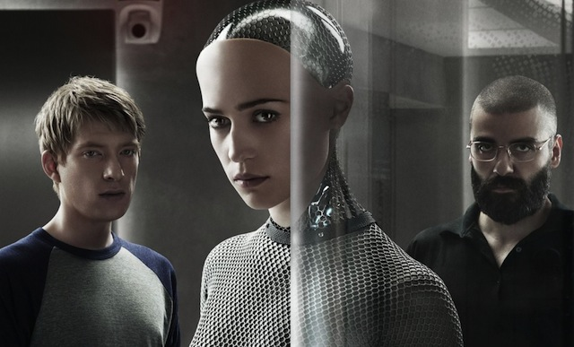 Ex Machina is among the Blu-rays getting released Tuesday, July 14, 2015.