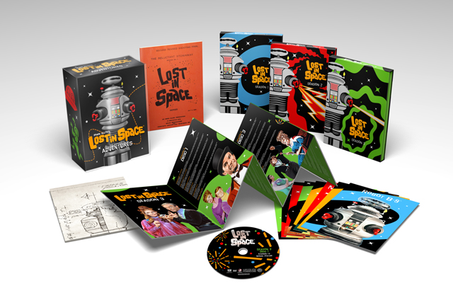 Exclusive Lost in Space 50th Anniversary Blu-ray packaging reveal
