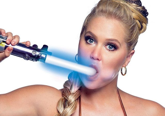 Amy Schumer's topless: Amy Schumer Star Wars