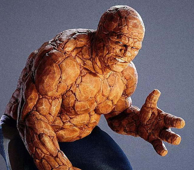 Will there be some Fantastic Four scenes featuring the Thing's thumbs?