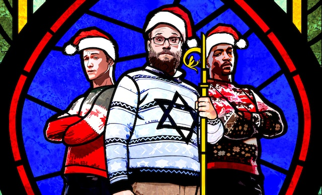 Check out the new The Night Before trailer.