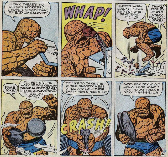 The Yancy Street Gang could easily be featured in some Fantastic Four scenes!